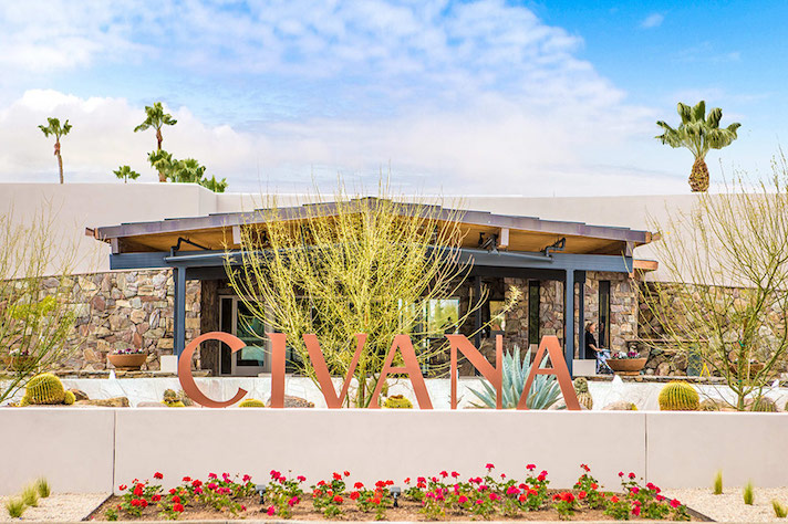 CIVANA Carefree Resort Civana Front Sign