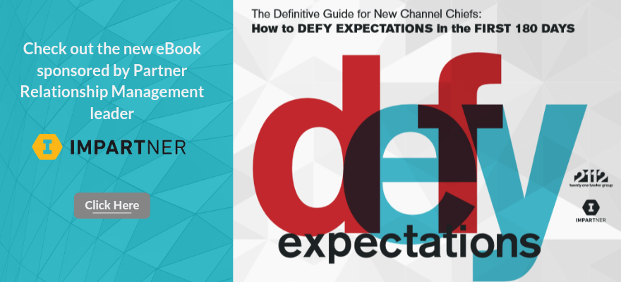 eBook: The Definitive Guide for New Channel Chiefs: How to Exceed Everyone's Expectations in 180 Days