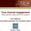 WEBINAR - True Channel Engagement